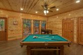 Luxury 6 Bedroom Cabin with Game Room Sleeps 14
