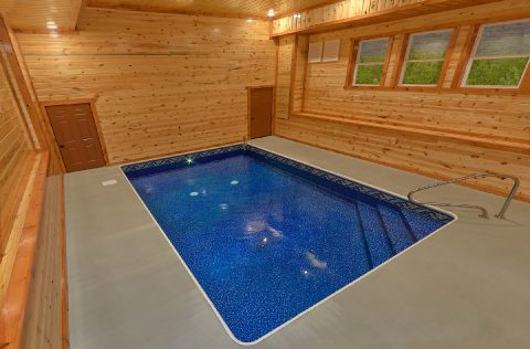 Spacious 6 Bedroom Cabin with Indoor Pool - 1 Amazing Lodge