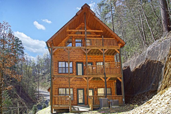 secluded cabins in pigeon forge cabin rental theater room