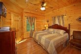 Master Bedroom with a King Sized Bed