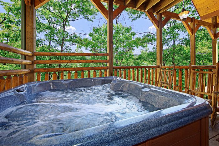 Hot Tub on Back Deck - 2 Good to be True