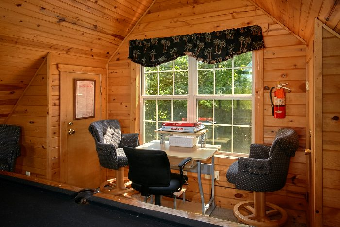 Private Cabin with Game Room and Home Theater - 2 Tranquil 4 Words