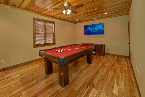 Game Room With Pool Table - 2nd Choice