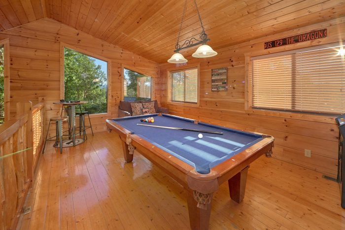 Loft Game Room with Pool Table - 4 Paws