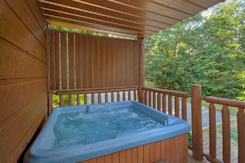 Private Hot Tub 3 Bedroom Cabin Sleeps 6 - 4 Paws