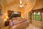 Comfy King Bedrooms in Pigeon Forge Cabin