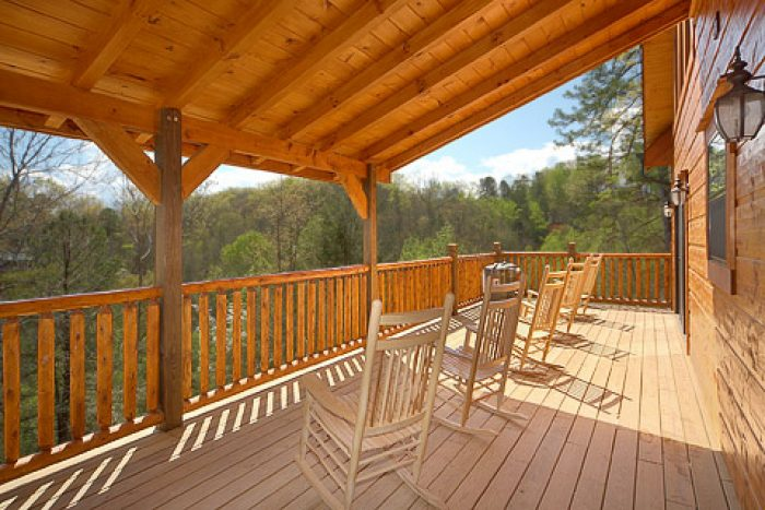 Smoky Mountain Cabin with Wooded Views - 4 Your Pleasure