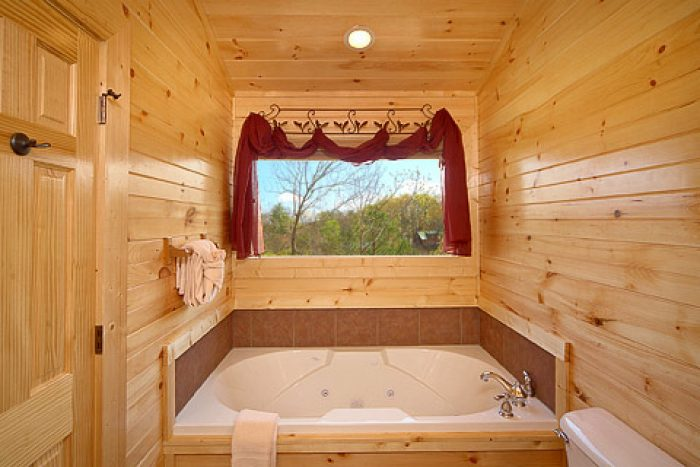Smoky Mountain Cabin with Indoor Jacuzzi Tub - 4 Your Pleasure