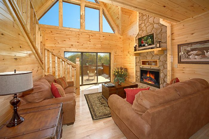 4 Bedroom Smoky Mountain Cabin in Pigeon Forge - 4 Your Pleasure