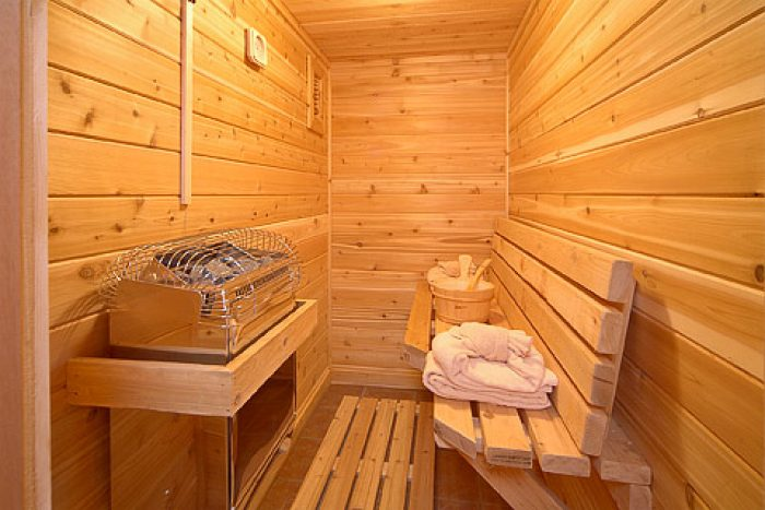 Smoky Mountain Cabin with Luxurious Sauna - 4 Your Pleasure