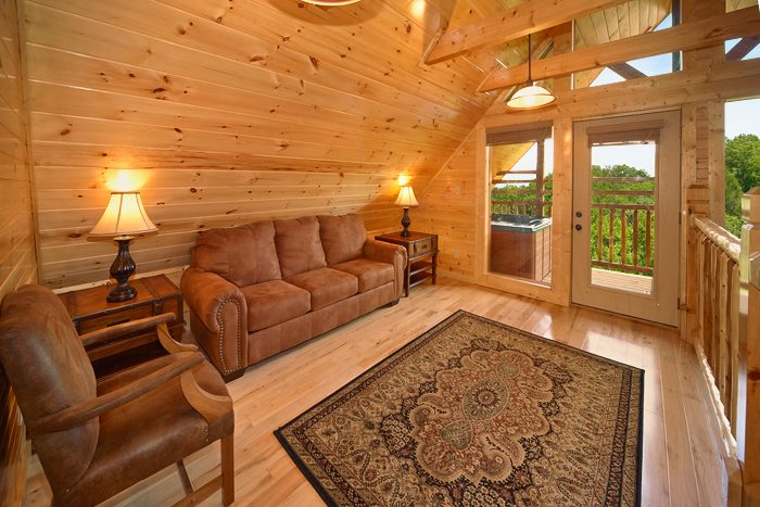 Cozy Pigeon Forge Cabin with Scenic Views - 5 O'Clock Somewhere