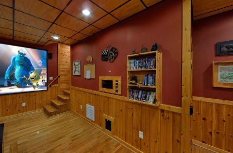 2 bedroom cabin with Luxurious Theater Room - A Bear Affair