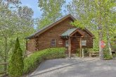Sevierville cabin rental with Home Theater Room