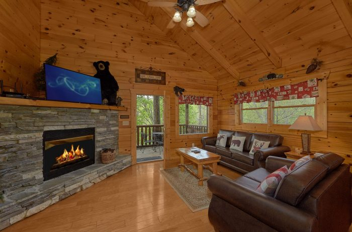 Luxurious Cabin with a Fireplace - A Bear Affair
