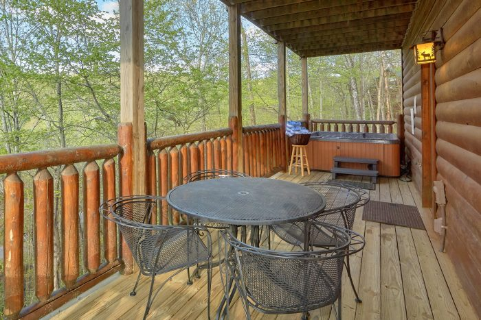 luxury 2 bedroom cabin with picnic table - A Bear Endeavor