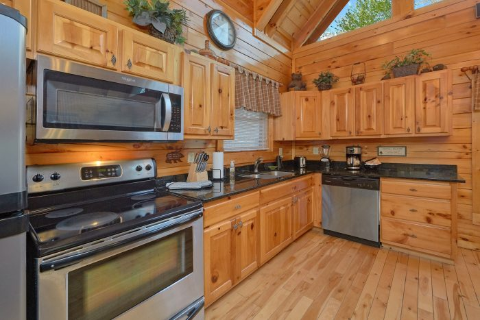 Luxury 2 bedroom cabin with full kitchen - A Bear Endeavor