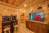 Cabin with Arcade Games in Game Room