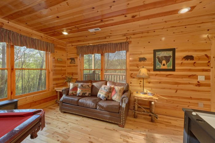 2 bedroom cabin with pool table and theater - A Bear Endeavor