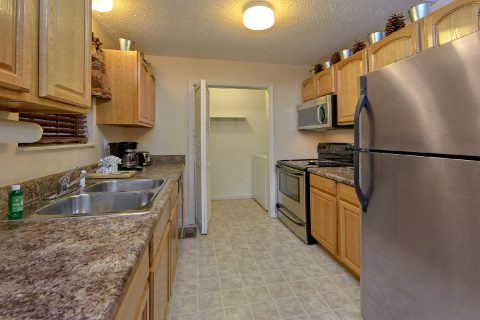 Fully Equipped Kitchen 2 Bedroom Cabin - A Bear Trax