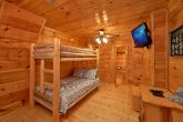 Premium 2 Bedroom Cabin with Twin Bunk Beds