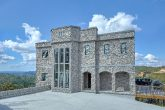 Luxury stone Castle rental cabin in Gatlinburg