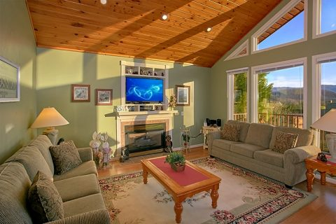 2 Bedroom Pigeon Forge Cabin with Fireplace - A Dream Come True