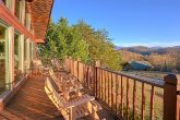 Cabin in Pigeon Forge with Views of the Mountain