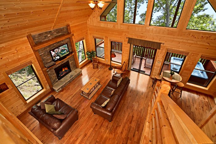 Fully Furnished Living Area - A Friendly Forest