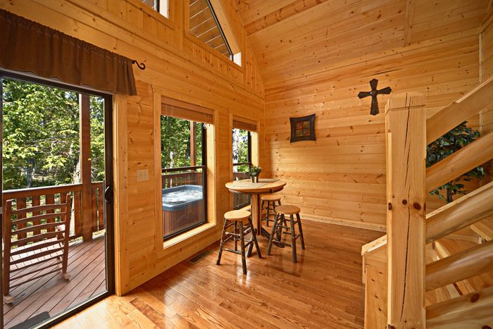Cabin with Additional Dining Seating - A Friendly Forest