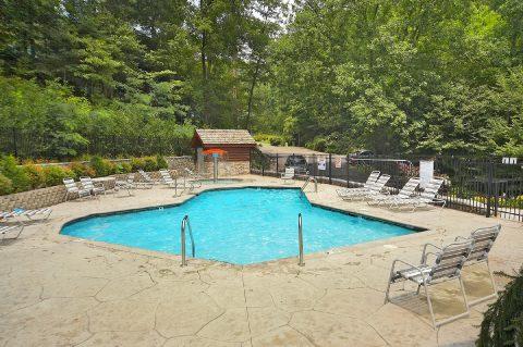 Black Bear Falls Resort Pool - A Grand Getaway