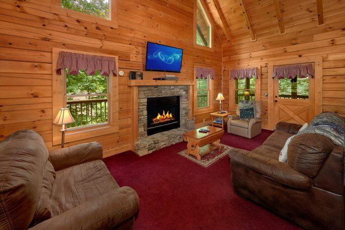 2 Bedroom Cabin in Pigeon Forge - A Happy Haven