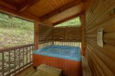 2 Bedroom Smoky Mountain Cabin with a Hot Tub