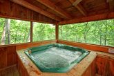 Hot Tub on Screened in Deck