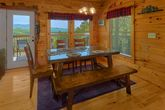 Cabin with Dining Table and Bar Seating