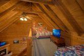 Open Bedroom in Loft Twin Beds