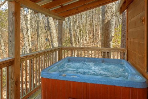 Private Hot Tub 2 Bedroom Cabin Sleeps 6 - A Little Bit Of Lovin'