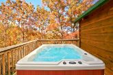 Cabin with Hot Tub on Private Deck