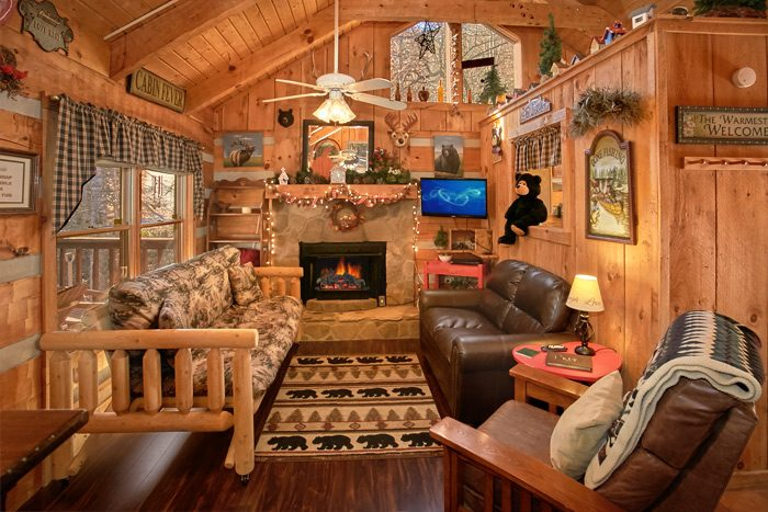 Wears Valley 1 Bedroom Cabin Fully Furnished - A Love Nest
