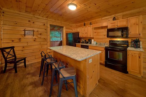 Fully Furnished Kitchen - A Mountain Lodge
