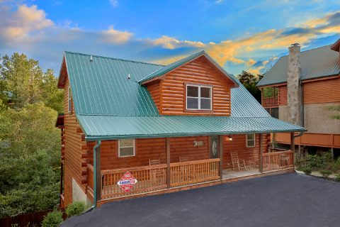 Premium 5 bedroom cabin in Pigeon Forge - A Mountain Palace