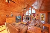 Beautiful cabin with Living Room