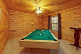 1 Bedroom Cabin with a Pool Table