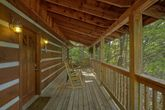 Private 2 bedroom cabin with wooded view