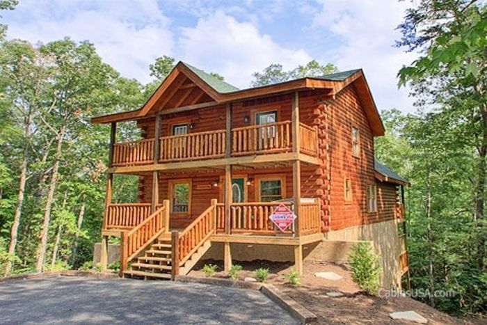 Phenomenal A Perfect Stay 5 Bedroom Cabin Rental Cabins Usa Gatlinburg Home Interior And Landscaping Pimpapssignezvosmurscom