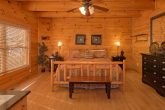 Luxurious Main Floor Bedroom 4 Bedroom Cabin