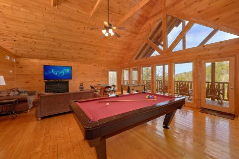 4 Bedroom Cabin with Large Open Game Room - A Rocky Top Ridge