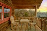 Rustic 1 Bedroom Cabin in Sevierville Sleeps 4
