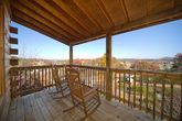 Pigeon Forge Cabin in Arrowhead Resort with View