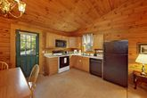 One Bedroom Cabin with 1 Level Open Floor Plan