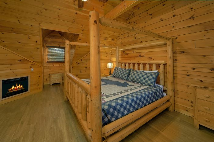 Cabin with Dining Table - A Smoky Mountain Experience